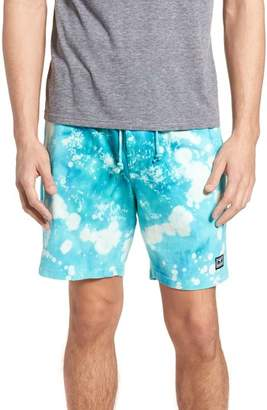Obey Paloma Bleach Dyed Shorts