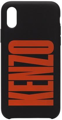 logo printed iPhone X case