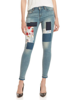 William Rast Patch Perfect Skinny Jeans