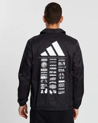 adidas Athletic Pack Coaches Jacket