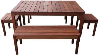 The Import Depot Outdoor Dining Sets Aulay 5-Piece Outdoor Dining Set