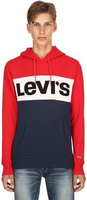 Levi's Logo Color Block Sweatshirt Hoodie