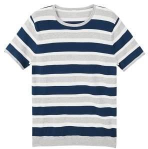 Mango Man MANGO MAN Striped jersey t-shirt