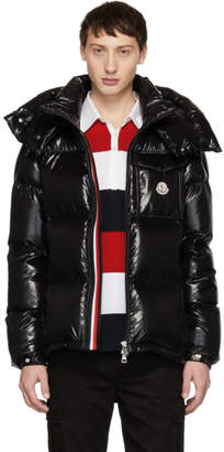 Moncler Black Down Montbeliard Jacket