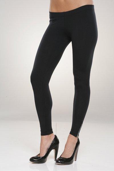 David Lerner 4 Inch Zipper Leggings