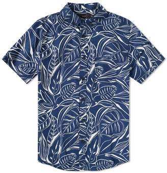 Onia Short Sleeve Jack Ink Palm Shirt