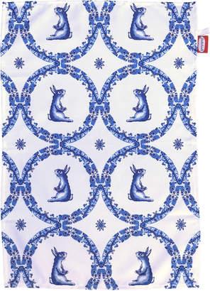 Jimbob Art - Rabbit Willow Pattern Teatowel