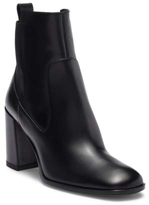 Via Spiga Delaney Leather Block Heel Boot