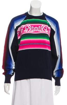 Sacai Pullover Lightweight Knit Sweater