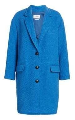 Etoile Isabel Marant Gimi Long Boxy Wool-Blend Coat