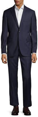 Saks Fifth Avenue Herringbone Wool Suit