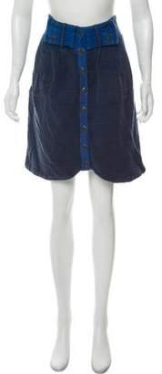 Mayle Woven Asymmetrical Skirt