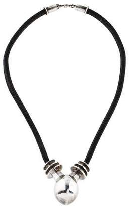 Kieselstein-Cord Coil Pendant Necklace