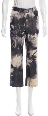 CelineCéline Tie-Dye Mid-Rise Jeans