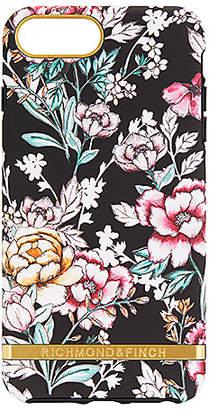 Richmond & Finch Black Floral iPhone 6/7/8 Plus Case