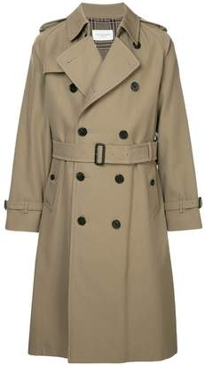 United Arrows belted trench coat
