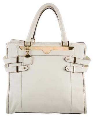 Chloé Grained Leather Tote Bag
