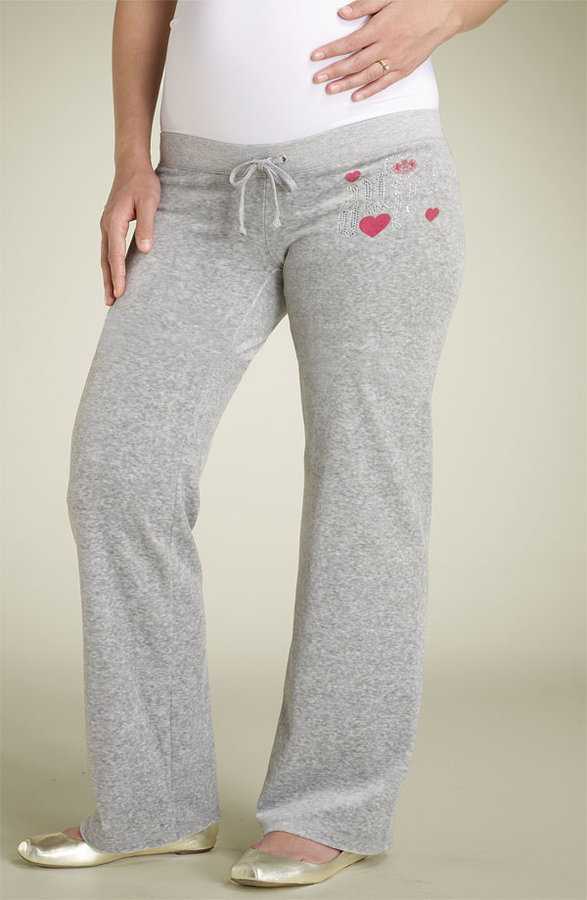 Juicy Couture Maternity 'Bling Galore' Drawstring Pants