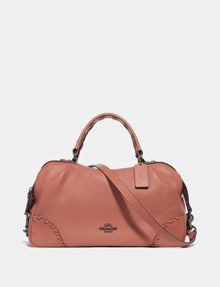 Coach Lane Satchel With Whipstitch