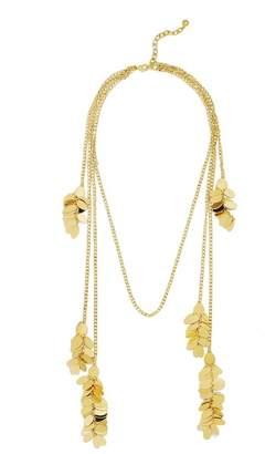 BaubleBar Demi Embellished Multi Drop Statement Necklace