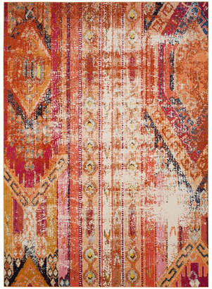 Safavieh Monaco Orange and Multi 8' x 11' Area Rug