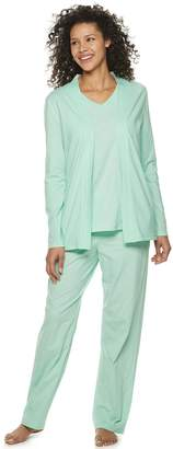 Croft & Barrow Petite 3-Piece Pajama Set