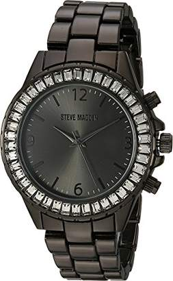 Steve Madden Women's Quartz Metal and Alloy Casual Watch