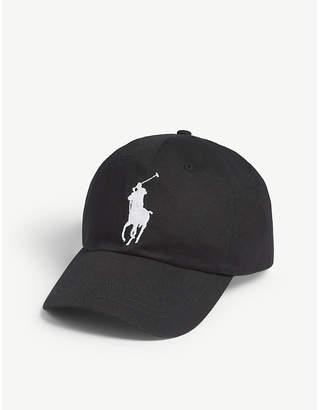 3daa59dd Polo Ralph Lauren Embroidered logo cotton cap