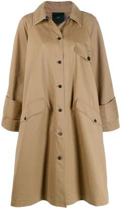 Jejia button-up trench coat
