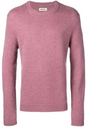 Zadig & Voltaire Zadig&Voltaire slim-fit cashmere jumper