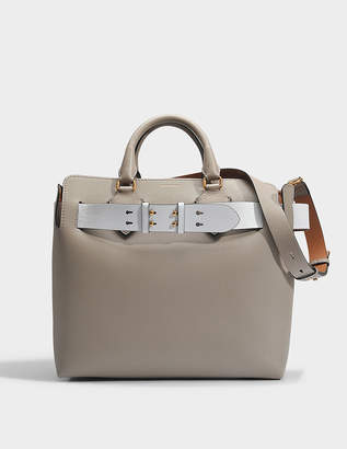 64fd8432b434 Burberry Belt Bag Medium in Mineral Grey Marais Leather