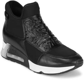 Ash Women's Lazer Leather High-Top Slip-On Sneakers