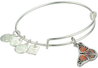 Alex and Ani Charity By Design Monarch Butterfly Bangle Bracelet