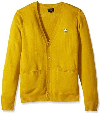 Obey Men's Court Cardigan II Sweater