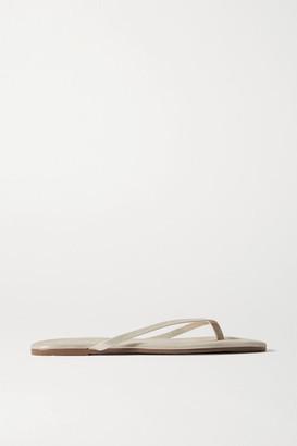 TKEES Lily Metallic Suede Flip Flops - Gold