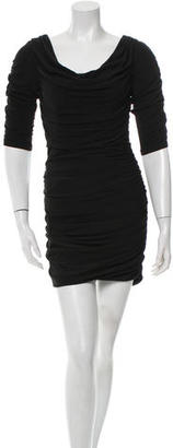 Alice by Temperley Ruched Cowl Neck Dress $85 thestylecure.com