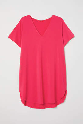 H&M V-neck Tunic - Pink