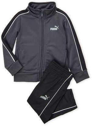 Puma Infant Boys) Two-Piece Stripe Track Jacket & Pants Set