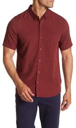 Travis Mathew Wyatt Short Sleeve Slim Fit Shirt