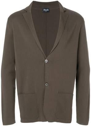Drumohr knitted blazer cardigan