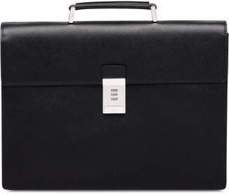 7c25cbd64b8cdd Mens Leather Lock Bag - ShopStyle