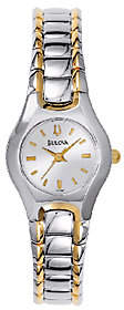 Bulova Ladies Two-Tone Stainless Steel BraceletWatch $175 thestylecure.com
