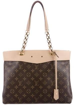 Louis Vuitton 2016 Monogram Pallas Shopper