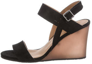 Marc by Marc Jacobs Suede Wedge Sandals w/ Tags $125 thestylecure.com