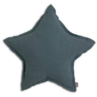 Numero 74 Star cushion - Blue grey