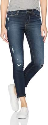 Silver Jeans Co. Women's Bleecker Modern Slim Fit Mid Rise Jeggings
