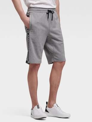 DKNY Taped-logo Short