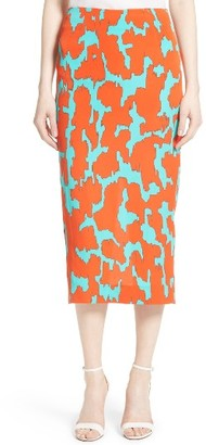 Women's Diane Von Furstenberg Tailored Midi Pencil Skirt $278 thestylecure.com