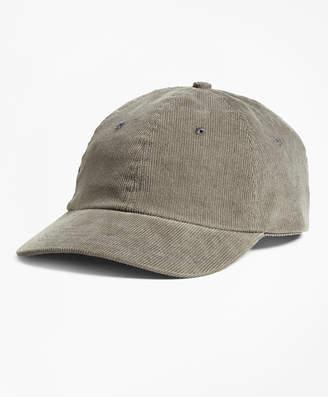 Brooks Brothers Corduroy Baseball Hat
