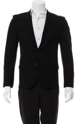 CNC Costume National Wool Structured Blazer
